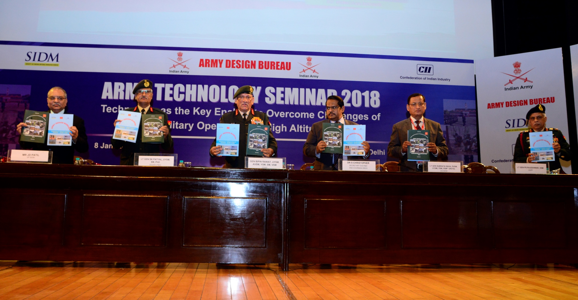 Release of Volume III 'Compendium of Problem Statements' at ARTECH 2018 in New Delhi on 08 January 2018