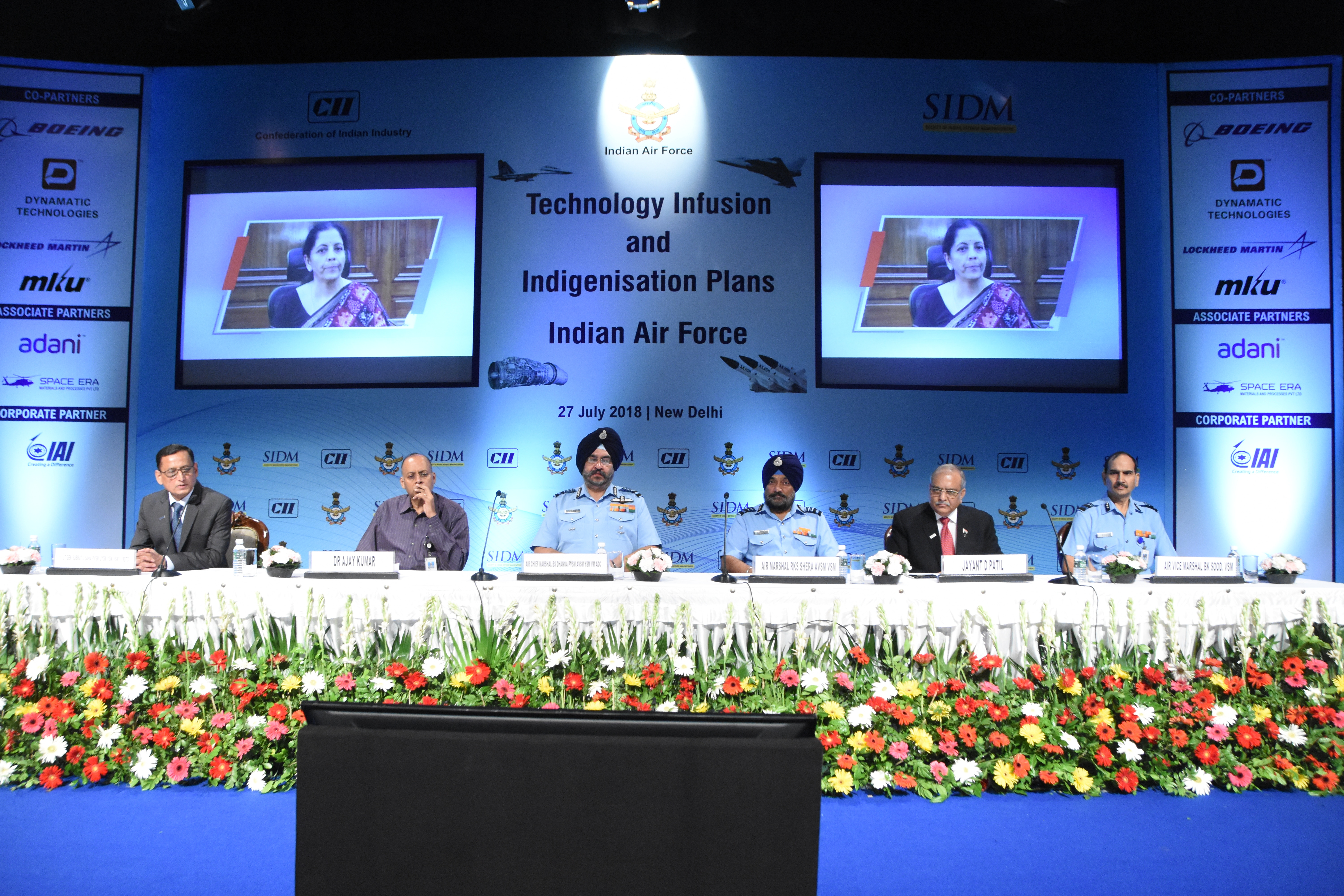 Inaugural Session of the Technology Infusion and Indigenization Plans of the Indian Air Force Seminar
