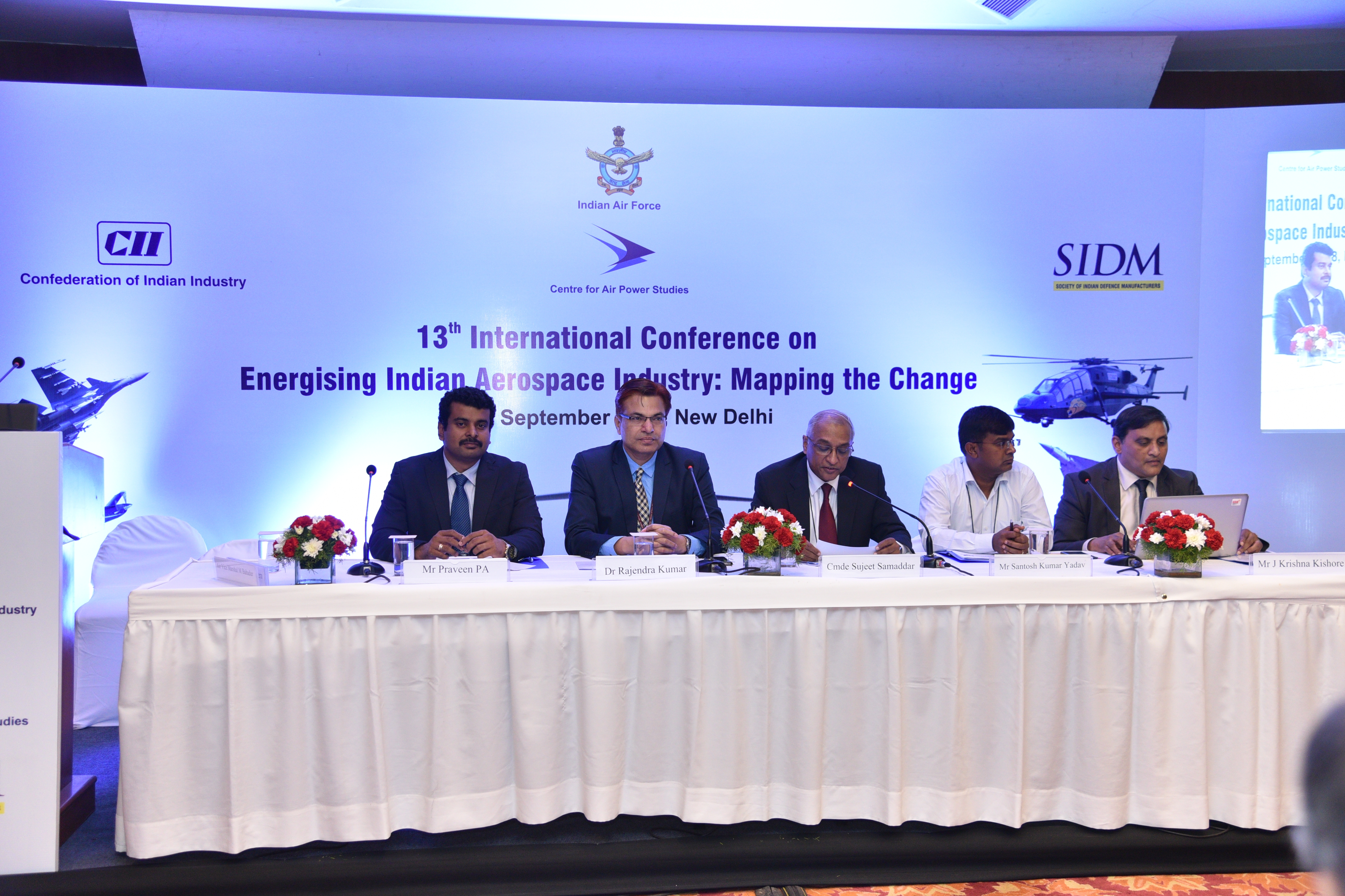 Panel Session 2 at the 13th International Conference on Energising Indian Aerospace Industry