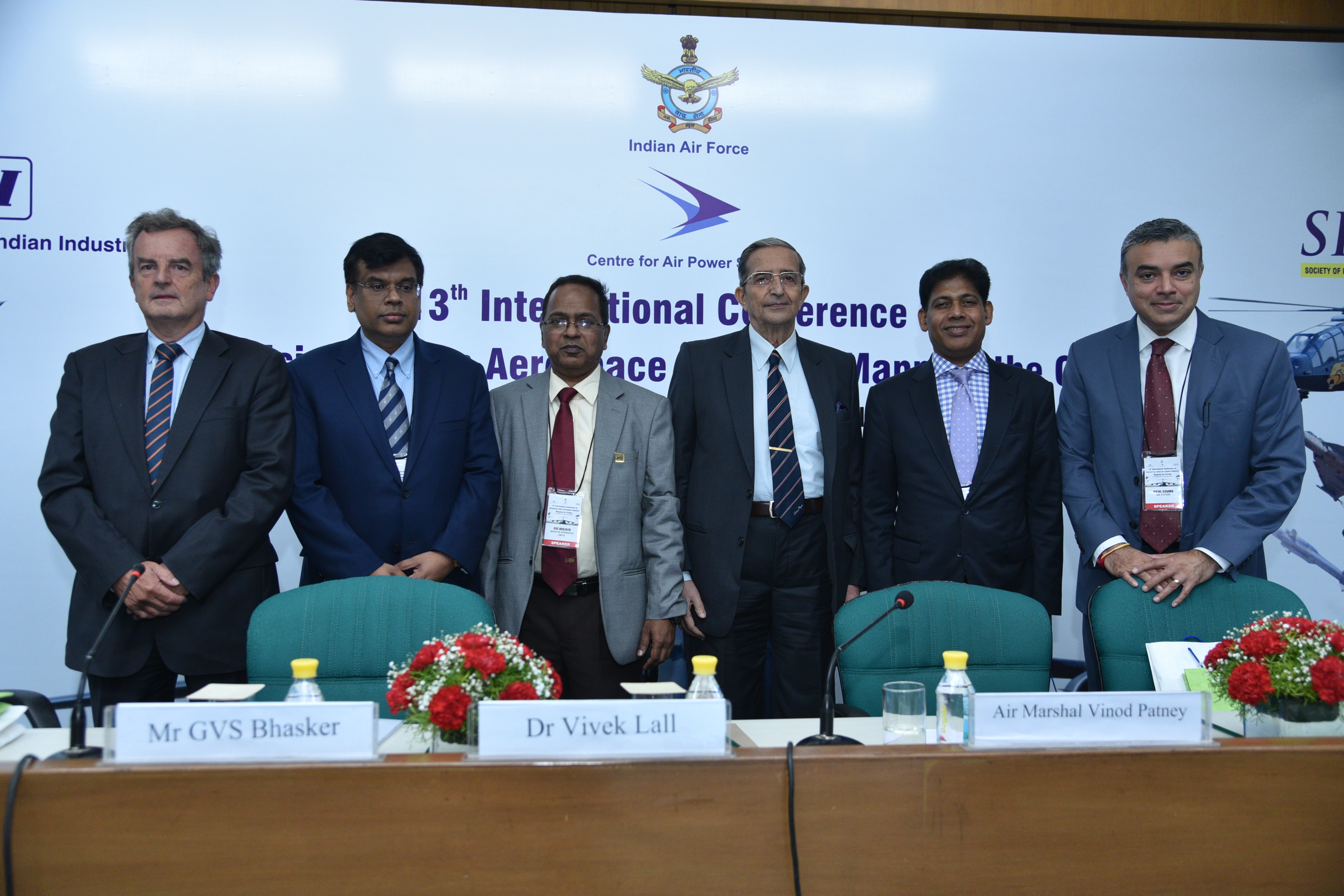 Industry Members in a panel session at the 13th International Conference on Energising Indian Aerospace Industry